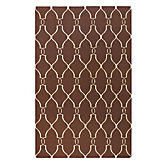 Ariana Dhurrie Rug -  Chocolate