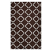Circa Dhurrie Rug - Chocolate