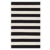 Avila Dhurrie Rug - Black