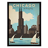 Vintage Chicago Lake