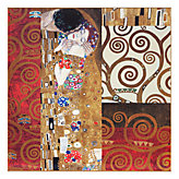 Klimt - Details The Kiss