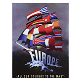 Vintage European Flags