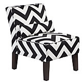 Bailey Accent Chair - Chevron