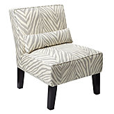 Bailey Accent Chair - Zebra