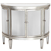 Demilune Mirrored Chest