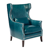 Eddie Accent Chair - Peacock