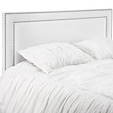 Kate Headboard - White Twill