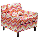 Max Accent Chair - Nomad Flame