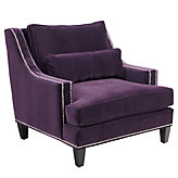 Pierre Chair - Aubergine