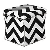Storage Ottoman - Chevron