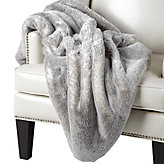 Chinchilla Throw - Grey