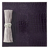 Everglades Placemat - Set of 4 - Eggplant