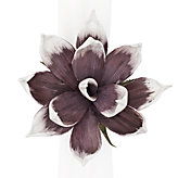 Magnolia Napkin Ring - Set of 4 - Thistle