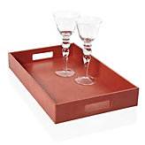 Largo Rectangular Tray - Orange
