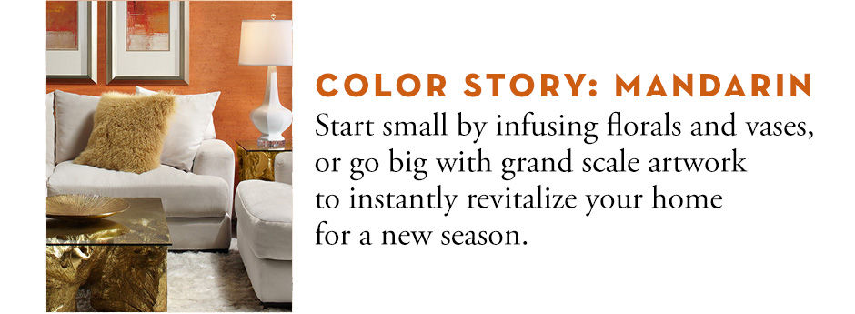 Color Story: Mandarin