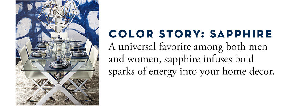 Color Story: Sapphire