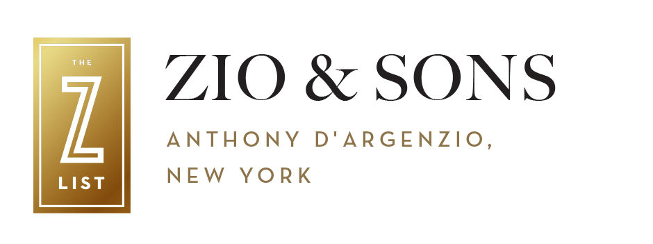 Zio & Sons, Anthony D'Argenzio, New York