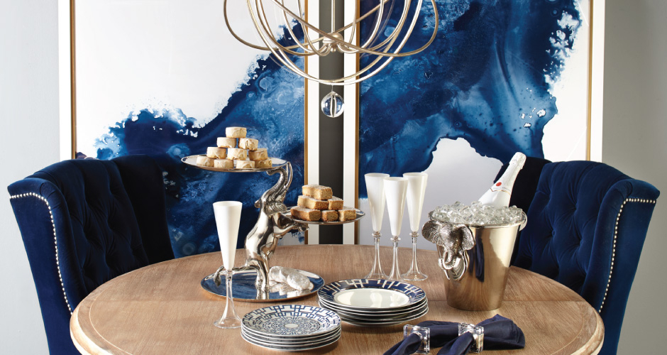 Entertaining Inspiration Round Archer Dining Table Z