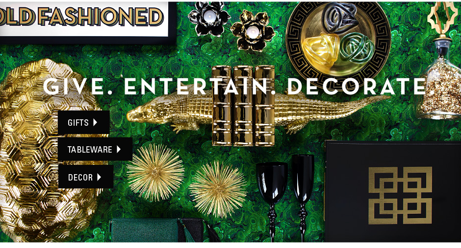 give. entertain. decorate.