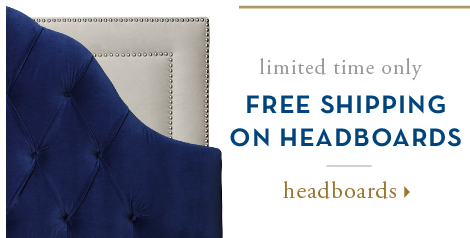 free shipping on headboards