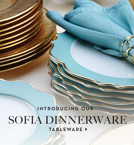 introducing our new sofia dinnerware / shop dinnerware
