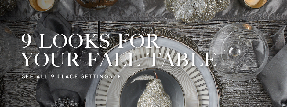 9 fall place settings
