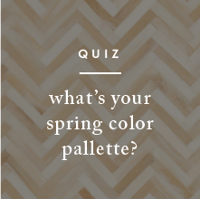 Quiz: Spring Color Pallette
