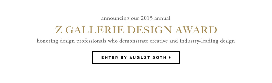 z gallerie design award