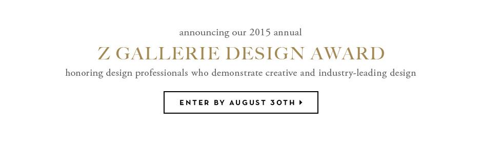 z gallerie design award
