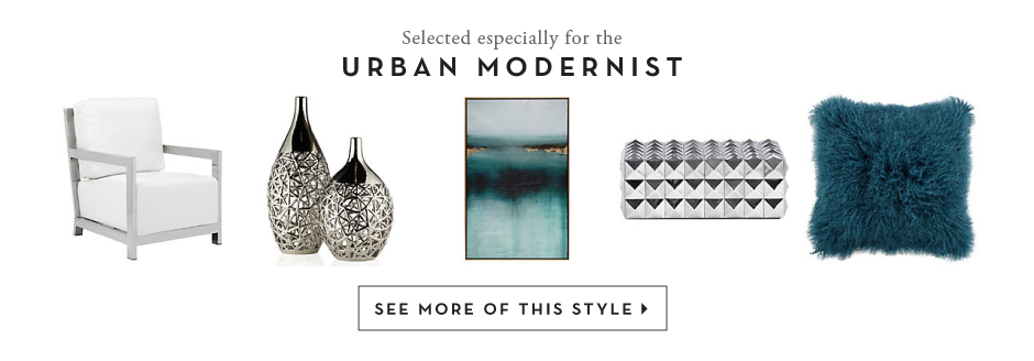 products for the Urban Modernist