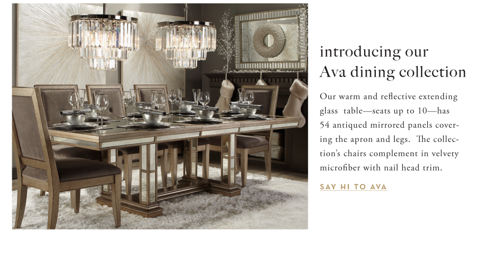 Ava dining collection