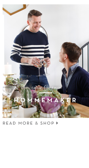 Table for Two - Hommemaker
