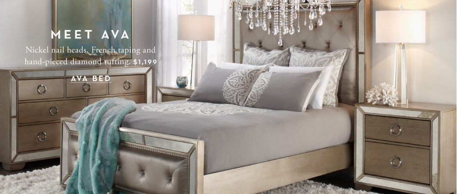 Bedroom furniture chic affordable bedroom sets z gallerie for Z bedroom furniture