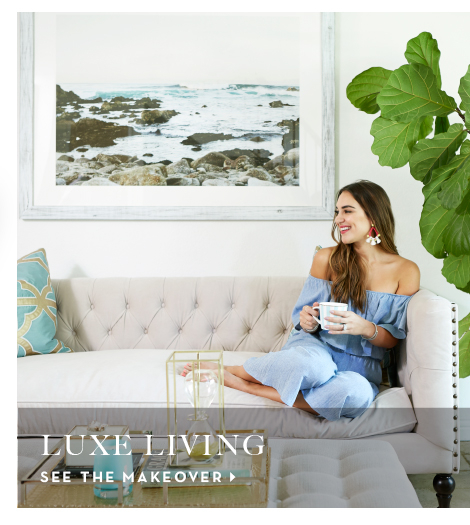 Luxe Living Makeover