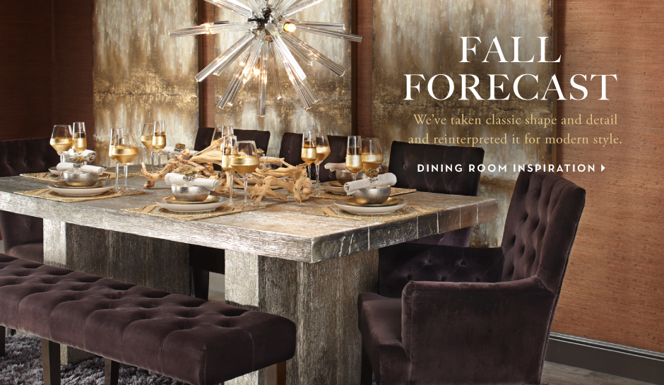 Fall Forecast - Dining Room