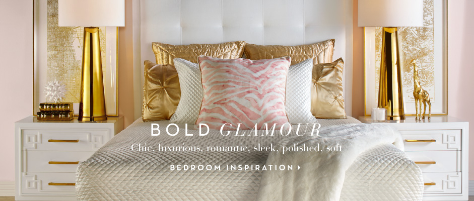 Bold Glamour - Visit Bedroom Ispiration