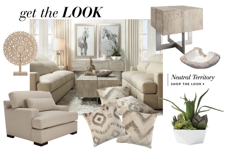 The Parker Netral Livingroom. New Home. Shop Decor.