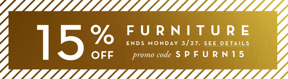 15% Off Furniture