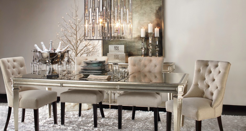 Empire dining table dining room inspiration for Z gallerie dining room inspiration