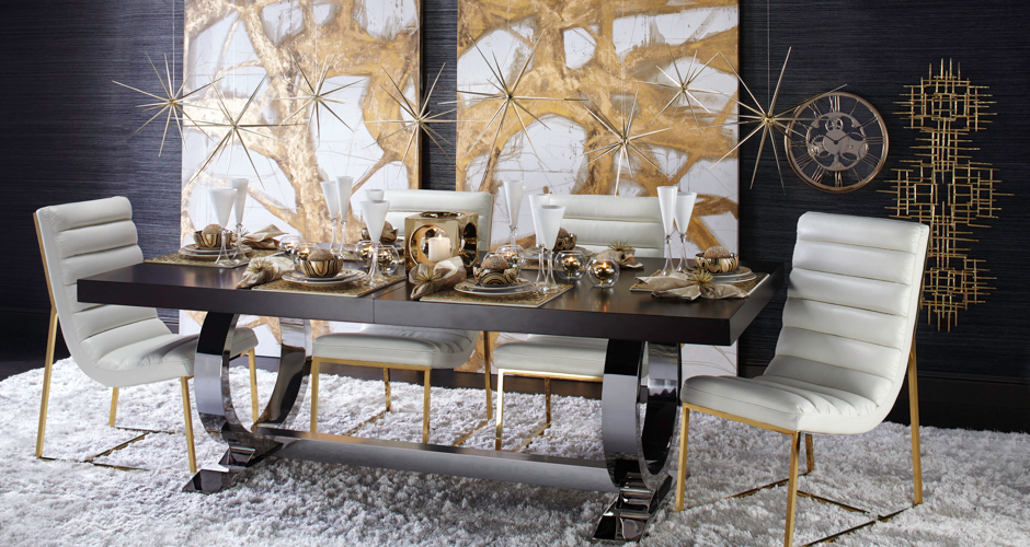Dining room inspiration townsend dining table z gallerie for Z gallerie dining room inspiration
