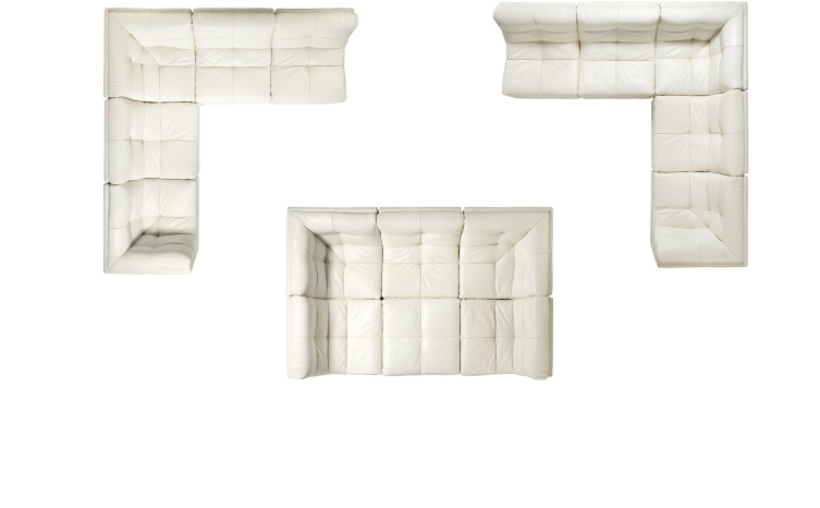 5-piece and 6-piece Sectional Configurations