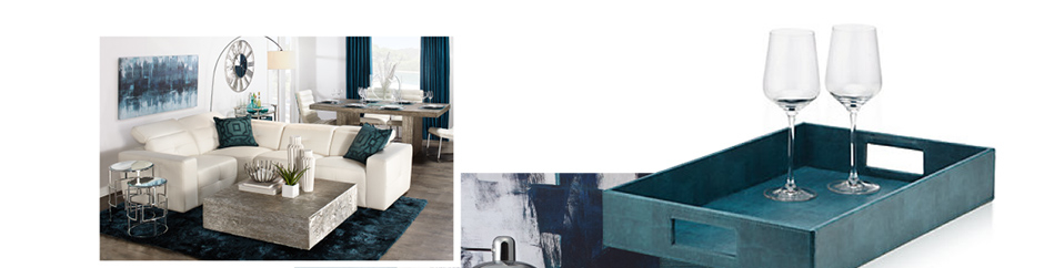 Cerulean Home Decor. Shop the collection.