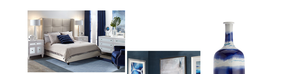 Sapphire home decor. Shop the collection