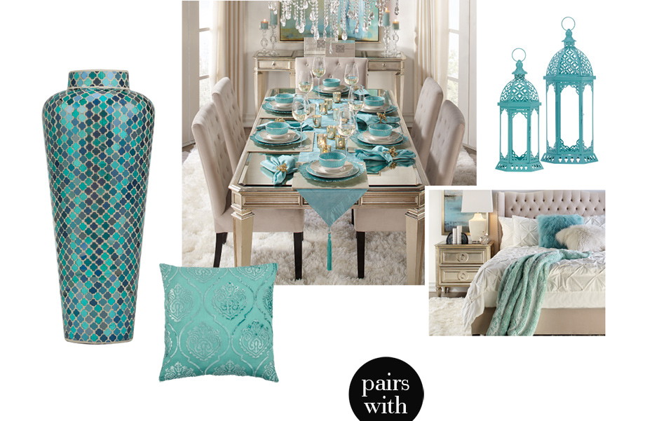 Aqua Home Decor. Shop the collection >