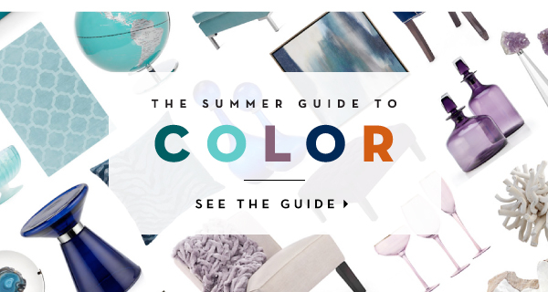 Summer is all about crave-worthy color. This season, we've partnered with Moll Anderson, New York Times Best Selling author of Change Your Home, Change Your Life With Color: What's your Color Story? to show you how to infuse color to make a style statement that elevates your mood.