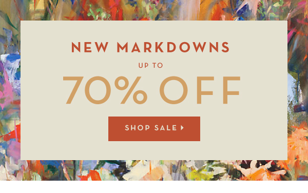 New Markdowns up to 70% off. Shop Sale