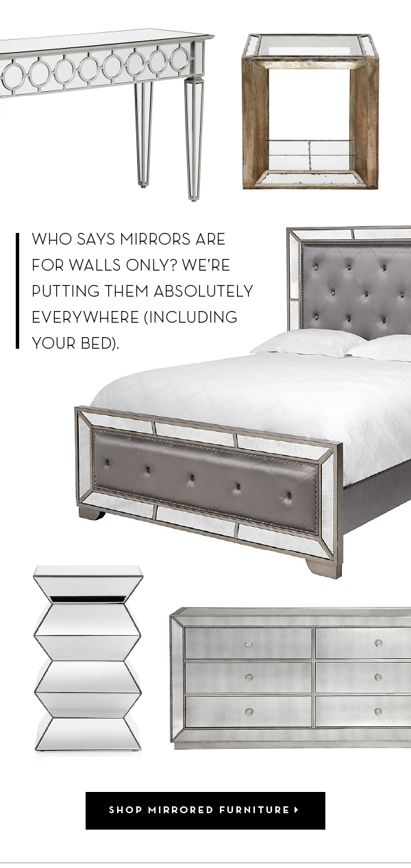 Shop Mirrored Furniture