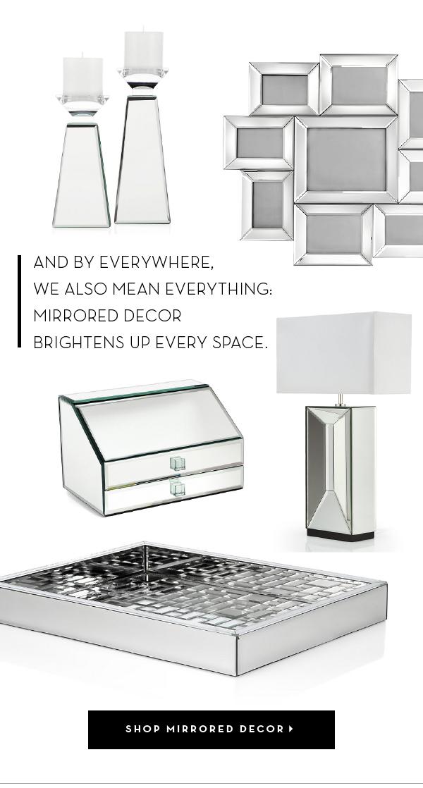 Shop Mirrored Decor