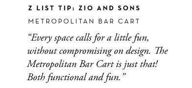 Bar Cart Info