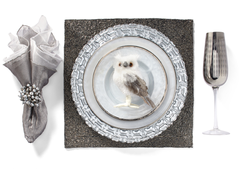Paramount Silver Dinnerware Table Setting